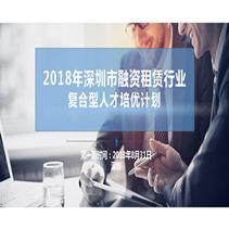 2018年深圳市融资租赁行业复合型